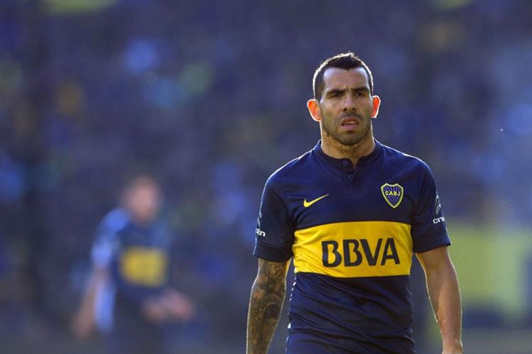 Carlos Tevez volverá a jugar este fin de semana con Boca Juniors, después de una suspensión de tres partidos. (Foto Prensa Libre: Hemeroteca PL).