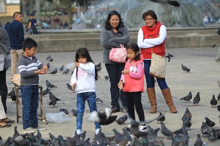 Sábado empezó con frío y llovizna pero en el resto de la mañana mejorará el clima, según el Insivumeh. (Foto, Prensa Libre: Esbin García)