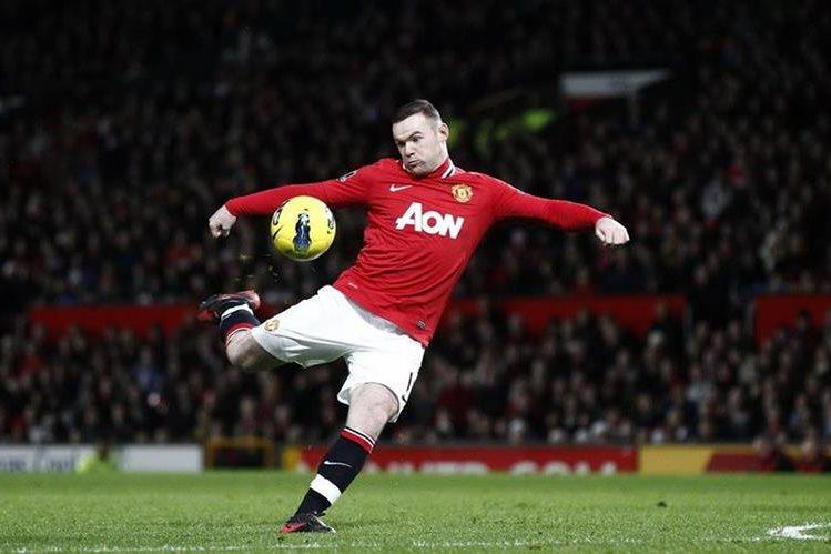 Rooney no jugará en China según confirmaron los medios británicos. (Foto Prensa Libre:AFP).