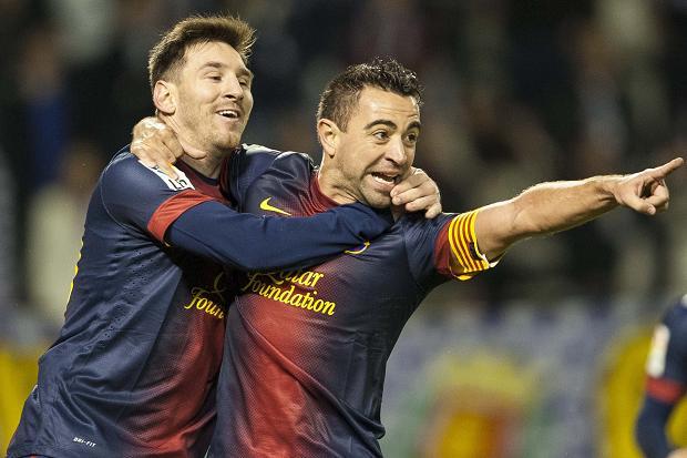 Messi y Xavi compartieron durante varios años juntos en el FC Barcelona donde ganaron varios títulos. (Foto Prensa Libre: Hemeroteca)