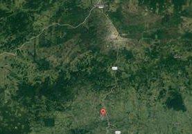 El accidente del bus pulman ocurrió en el km 319 de la ruta de San Luis a Flores, Petén. (Foto Prensa Libre: Internet)