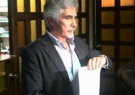 <p>Ricardo Méndez Ruíz, presidente de la Fundación Contra el Terrorismo. (Foto Prensa Libre; Jerson Ramos)<br></p>