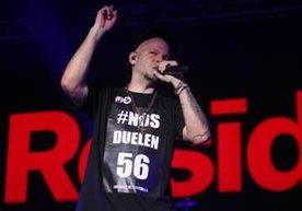 Residente ofreció un concierto y deleitó a los guatemaltecos.