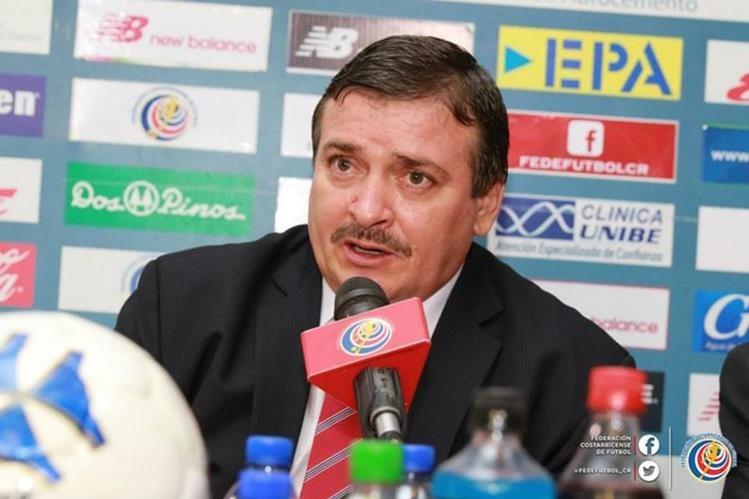Óscar Ramírez, técnico de Costa Rica, asegura que están obligados a ganar la Copa Uncaf de Panamá. (Foto Hemeroteca PL).