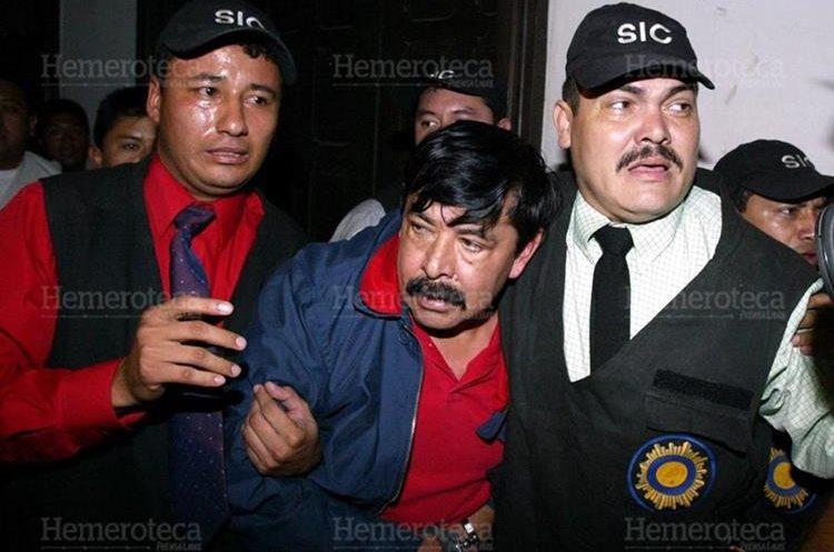 Marco Tulio Abadio Molina fue detenido por la Policía en noviembre de 2004, después de varios meses de ser perseguido. (Foto Prensa Libre: Hemeroteca PL)