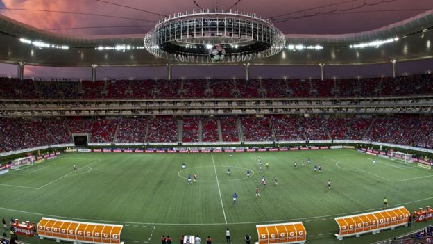 El estadio Chivas es uno de los más modernos en México con capacidad para 45.000 personas. (GETTY IMAGES)