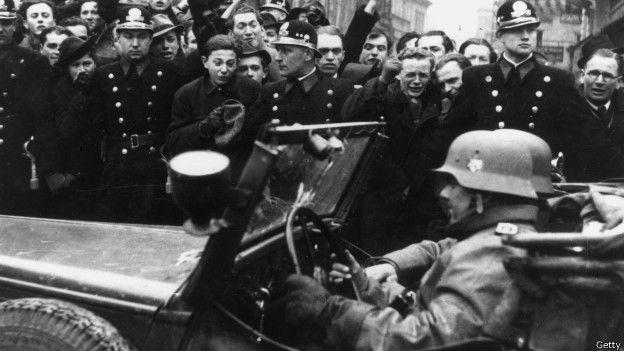 Clare detectó en la frontera la presencia de tropas alemanas que invadirían Polonia. Su reporte fue el primer anuncio del comienzo de la Segunda Guerra Mundial el 1 de septiembre de 1939. GETTY