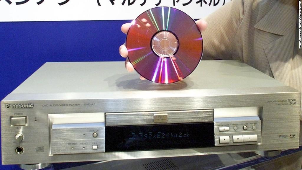 El DVD fue presentado en el CES de 1996. (Foto Prensa Libre: CNN Money).