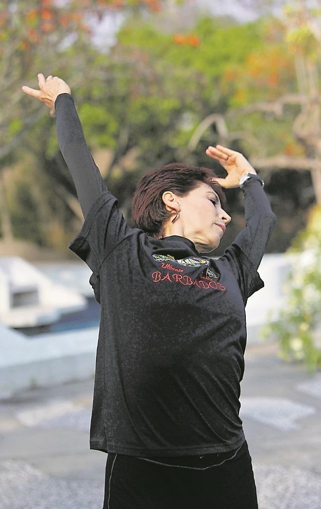 Lizette Mertins tiene una destacada trayectoria ligada a la danza y al  teatro. (Foto Prensa Libre: Keneth Cruz)