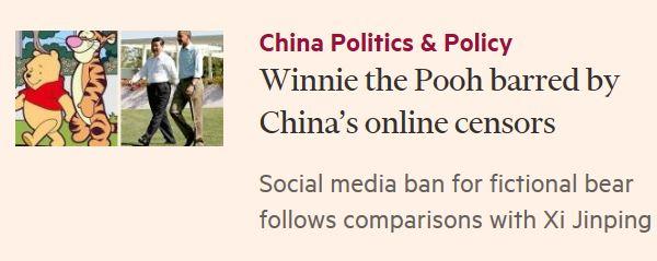 Un artículo del Financial Times denuncia la censura del contenido de libros infantiles en China. (Foto Prensa Libre:)
