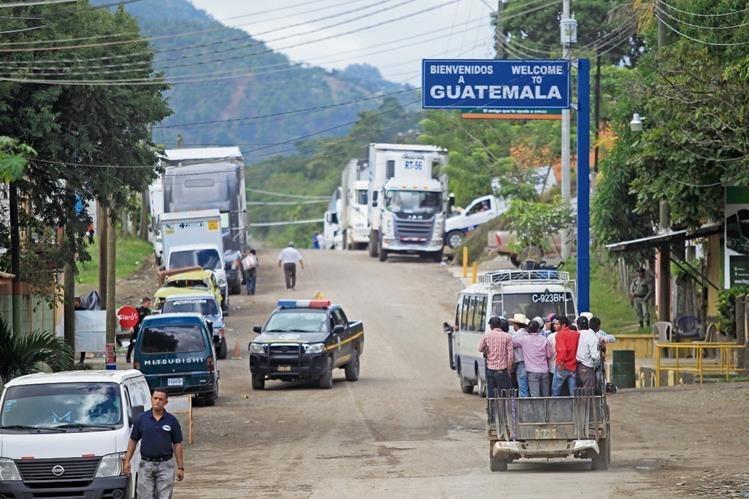 La PNC refuerza la seguridad en las fronteras con El Salvador. (Foto Prensa Libre: Hemeroteca PL)