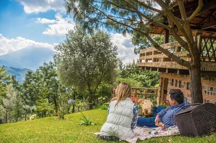 Finca Filadelfia también ofrece tours familiares y para los amantes del canopy en Antigua Guatemala. (Foto Prensa Libre: Finca Filadelfia)