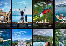 La campaña incluye diversos destinos turísticos no tradicionales, como se muestran en esta presentación. (Foto, Prensa Libre: Cortesía Inguat)