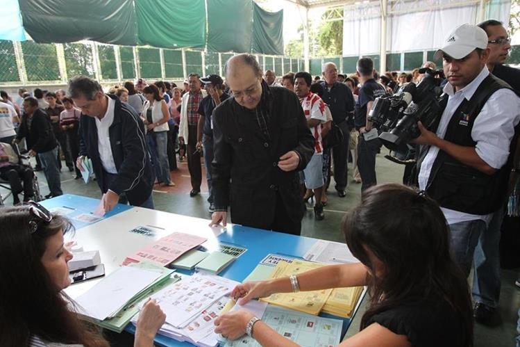 Las elecciones generales se desarrollan este domingo en todo el país. (foto Prensa Libre: Hemeroteca PL)