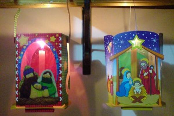 C mo hacer faroles para navidad - Como se hacen adornos navidenos ...