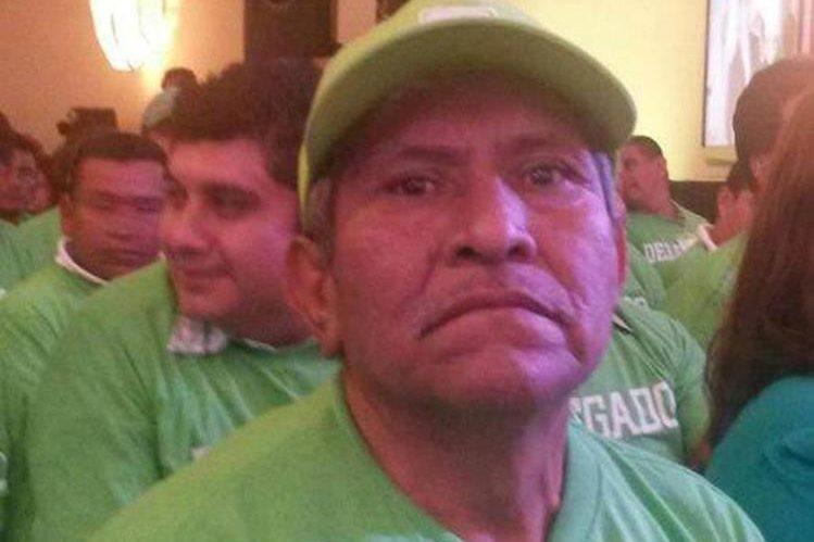 El exalcalde de San Pablo Jocopilas, Suchitepéquez, Francisco Odilio Vela Tunay, fue condenado a nueve años de cárcel. (Foto Prensa Libre: Cristian Soto)