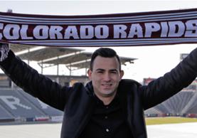Marco Pappa está feliz por el nuevo reto. (Foto Prensa Libre: Colorado Rapids)