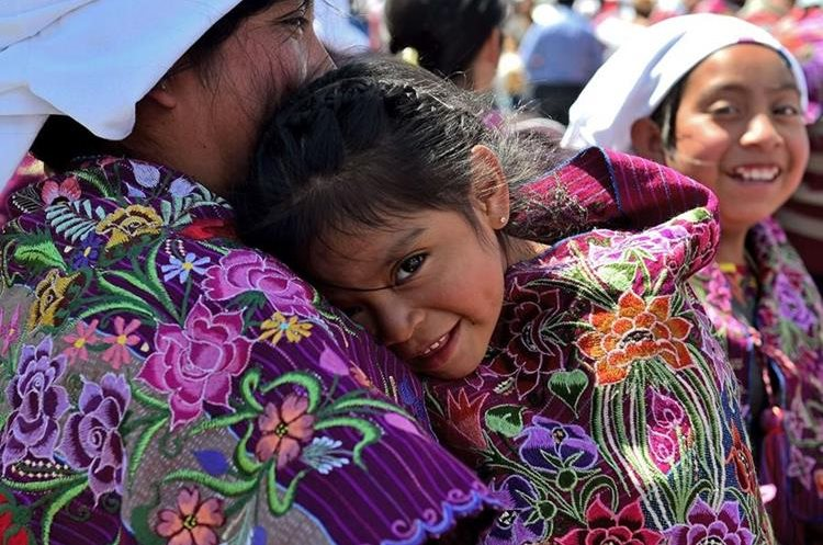 A young girl attends a mass celebrated by Pope Francis with representatives of the indigenous communities of Chiapas in the municipal sport center in San Cristobal de Las Casas, Chiapas, Mexico on February 15, 2016. Pope Francis reached out to Mexico
