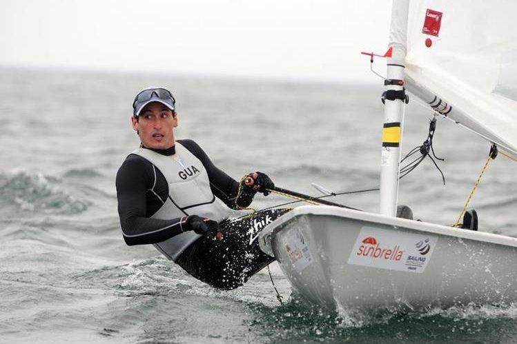 Juan Ignacio Maegli supera lesión y trabaja para su tercera aventura en Juegos Olímpicos. (Foto Prensa Libre: Jeniffer Gómez)