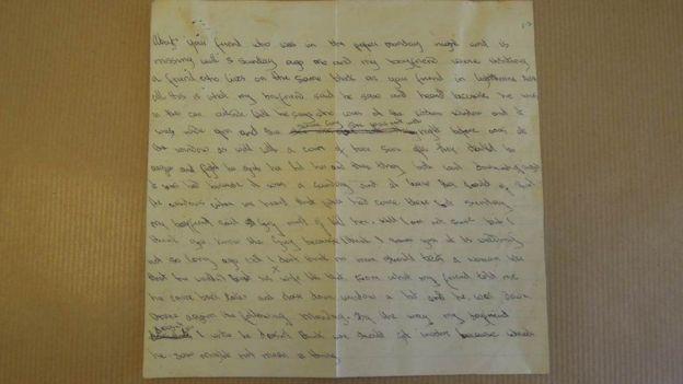 El ADN del responsable fue descubierto en una carta anónima que envió. WEST MIDLANDS POLICE