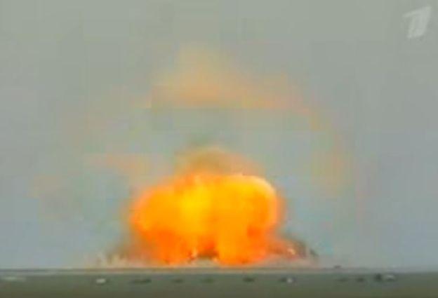 El efecto de la bomba rusa vaporiza a cualquier ser vivo que esté en su radio de acción, según los analistas. CANAL 1