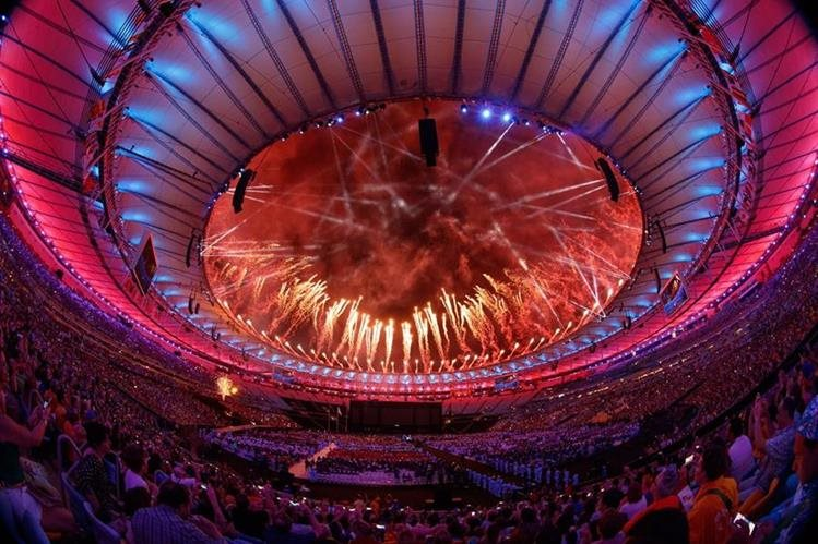 Ceremonia de clausura de los Juegos Paralímpicos. (Foto Prensa Libre: AP)