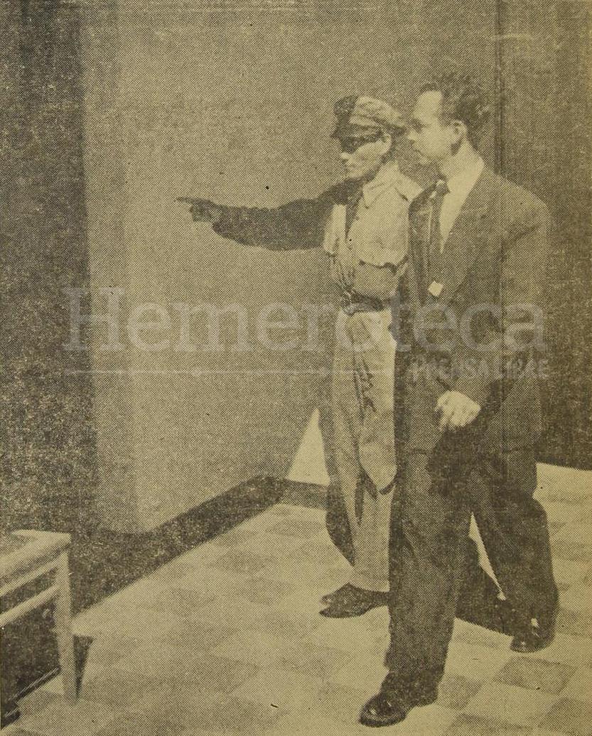 27/05/1955. Reportero de Prensa Libre, Rolando Tejeda Padilla, detenido de forma ilegal y arbitraria cuando cumplía con su labor reporteril. (Foto: Hemeroteca PL)