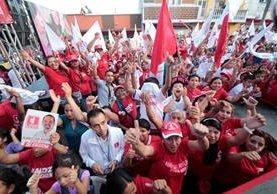 El partido Líder fue cancelado en julio de este año por resolución del TSE. (Foto Prensa Libre: Hemeroteca PL)