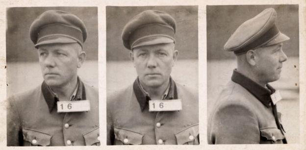El campo de concentración de Amersfoort estaba bajo el comando de Karl Peter Berg, quien fue ejecutado en 1949. ARCHIVO NACIONAL DE HOLANDA