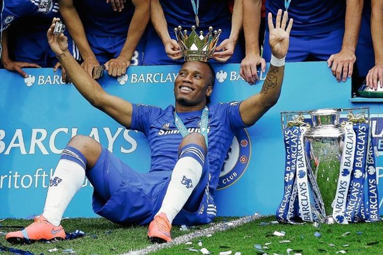 Didier Drogba fue campeón con el Chelsea y ahora buscará títulos con el Montreal. (Foto Prensa Libre: Hemeroteca)