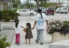 Menores piden que no sean deportados y que sus familias puedan estar unidas. (Foto Prensa Libre: Hemeroteca PL)