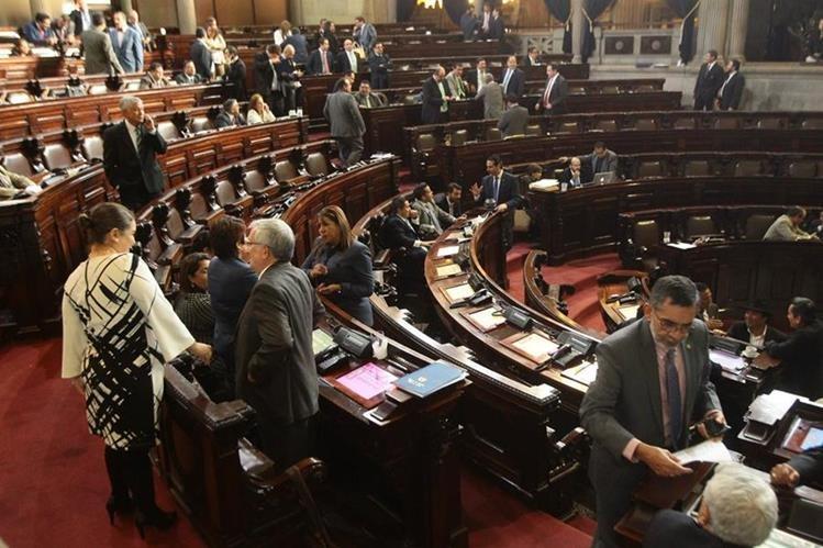 Diputados tienen hasta el 30 de noviembre para aprobar el presupuesto de 2017. (Foto Prensa Libre: Álvaro Interiano)