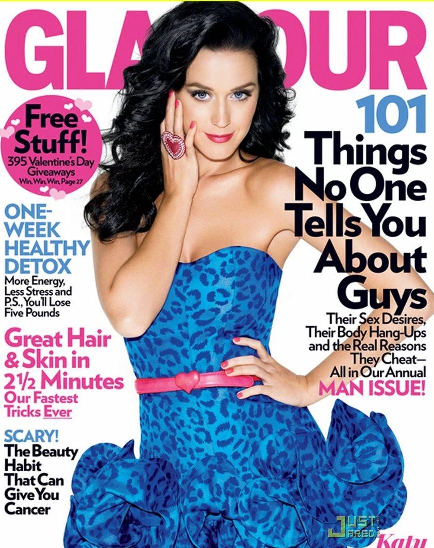 Portada de la revista Glamour. (Foto Prensa Libre: Glamour)