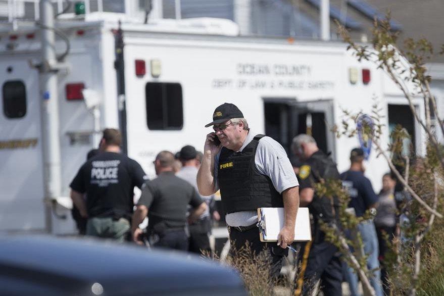 La explosión de un artefacto en Nueva Jersey causó alarma. (Foto Prensa Libre: AP)