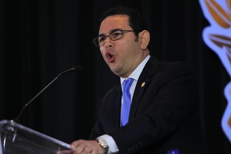 """Con respecto al primer año de gestión del Ejecutivo, comandado por Jimmy Morales, los socios de Camagro lo calificaron como """"peor"""". Foto Prensa Libre: Hemeroteca)"""