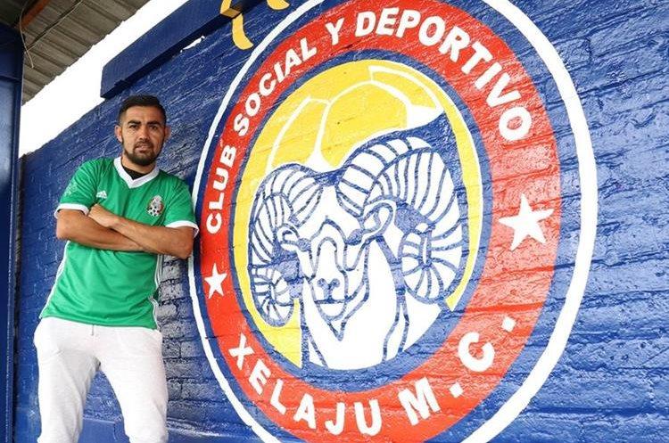 César Morales es el mexicano que más goles ha marcado con la camiseta de Xelajú MC. (Foto Prensa Libre: Raul Juárez).