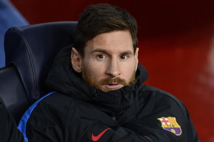 Lionel Messi quiere una vida tranquila para sus hijos. (Foto Prensa Libre: AFP)