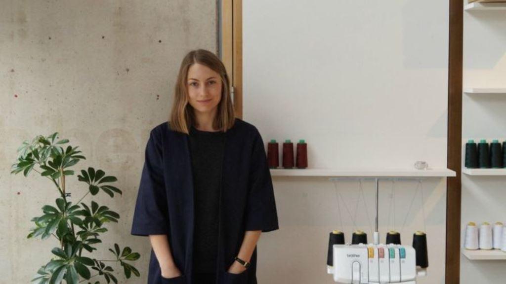 Aimee Harrison, fundadora de Line Cut Supply, busca diseñar ropa más práctica. AIMEE HARRISON