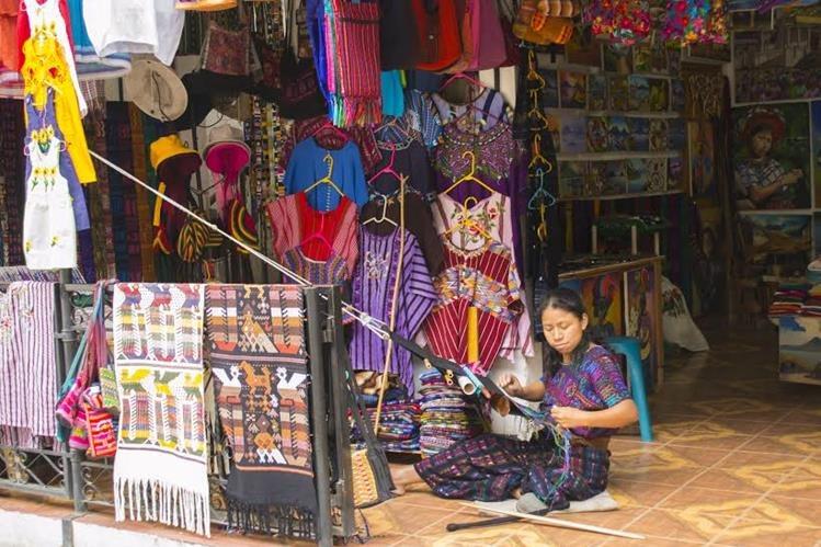Los textiles guatemaltecos son inspiración para diseñadores. (Foto Prensa Libre: Jaime Carrillo)