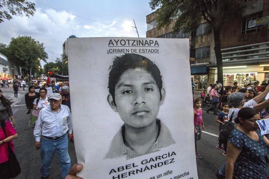 Una protesta en Guadalajara. (Foto Prensa Libre: AFP).