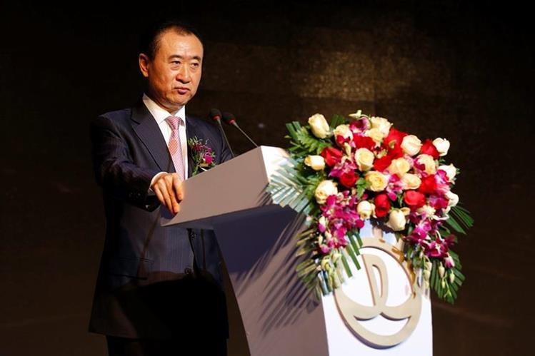 Wang Jianlin actual hombre más rico de China según la clasificación realizada por Bloomberg. (Foto Prensa Libre: EFE)