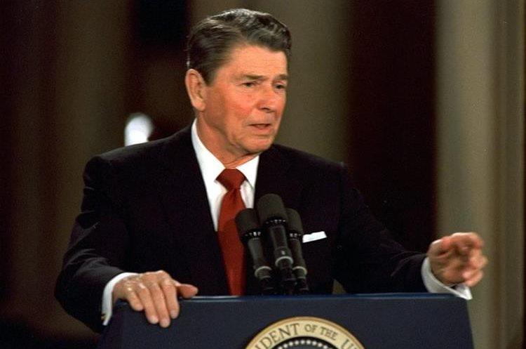 Ronald Reagan fue presidente de Estados Unidos de 1981 a 1989. (Foto: AP)
