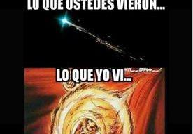 Ingenio de memes retratan el fenómeno celeste.