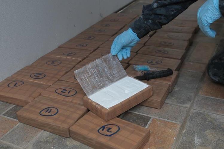 El 2016 es el año en el que más incautación de cocaína ha existido en dos décadas. (Foto Prensa Libre: Hemeroteca PL)