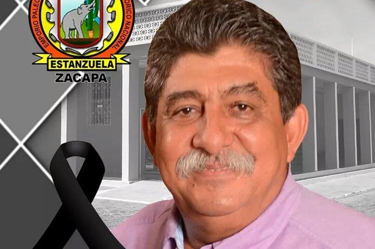 Julio César Girón alcalde de Estanzuela, Zacapa murió en un accidente el viernes último.(Foto Prensa Libre: cortesía)