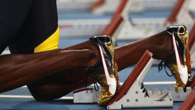 A diferencia del resto de los mortales, el 80% de la musculatura de Usain Bolt está compuesta de fibras rápidas. (Getty)