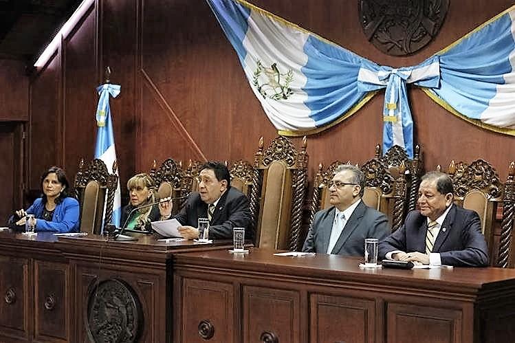 Los magistrados de la CC decidieron dejar en suspenso la elección de la Junta Directiva del Congreso. (Foto Prensa Libre: Hemeroteca PL)