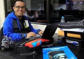 Adrián Catalán, Ingeniero en Sistemas. Foto Prensa Libre (Érick Ávila)