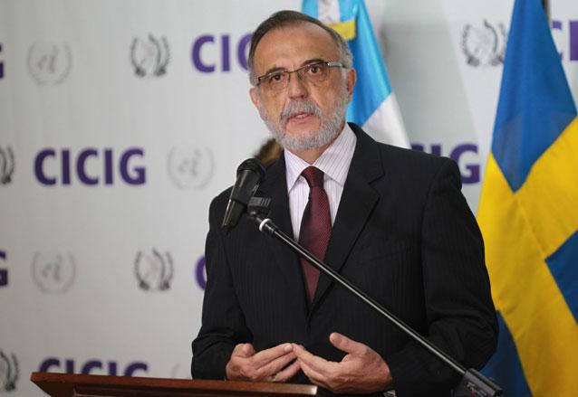 El ex fiscal colombiano Iván Velásquez preside la Cicig desde septiembre 2013. (Foto: Hemeroteca PL)