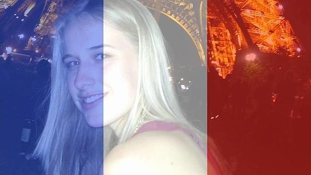 Isobel Bowdery salvó su vida durante los atentados en París. (Foto Prensa Libre: Facebook)